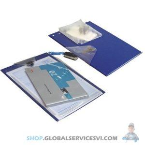 Pochette bleue pour réceptionnaire atelier - CEDILOG 46212