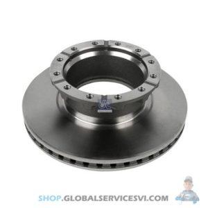 Disque de frein IVECO - DT SPARE PARTS 7.36002