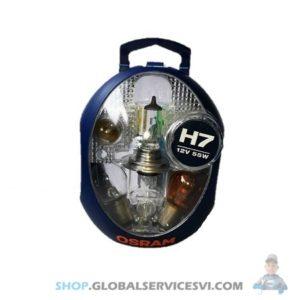 Coffret ampoule H7 12V 55W - OSRAM CLKH7