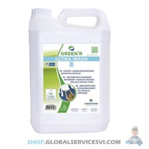 Lessive liquide GREEN R 5L - ULTRA WASH - LOT DE 2 - SODISE 58010.02