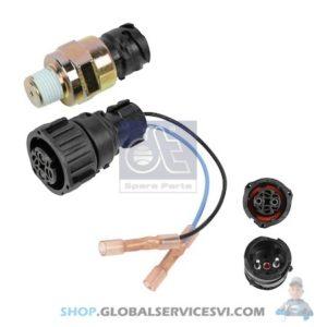 Interrupteur de pression, avec cable adaptateur - DT SPARE PARTS 2.23025
