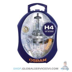 Coffret Lampe H4 / 12V - OSRAM CLKH4