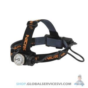 Lampe Frontale Ultra Puissante Aluminium 900Lm - NICRON - SODISE 02195
