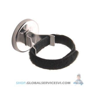 Crochet Magnétique avec Velcro - SODISE 05843