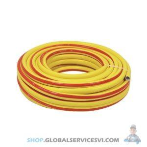 Tuyau eau renforce jaune 25M - SODISE 06463