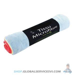 Lot de 6 microfibres - SODISE 14689