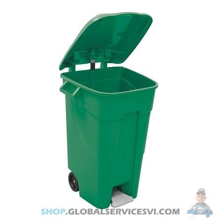 Conteneur de jardin Vert 120 L - SODISE 15975