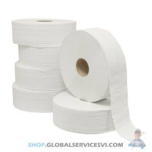 6 Bobines de papier hygiénique «maxi jumbo» - SODISE 17511