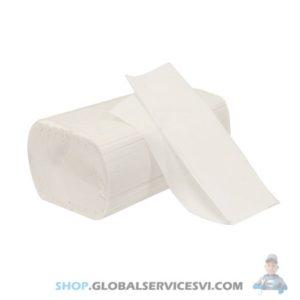 Recharge d'essuie mains blancs pliés 250 feuilles - Lot de 20 - SODISE 17513.20