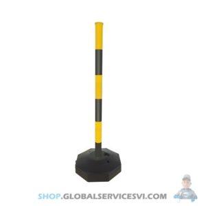 Poteau de signalisation -Lot de 12 - SODISE 61563.12