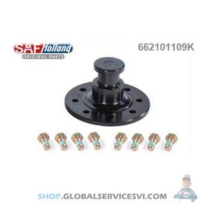 Pivot s'attelage + vis - SAF 662101109K