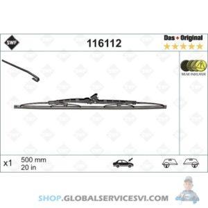 Balai d'essuie-glace SWF 500 mm - VALEO 116112