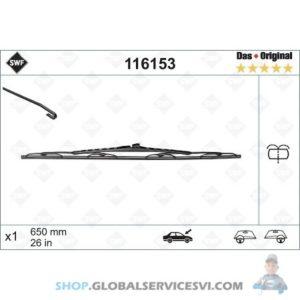 Balai d'essuie-glace SWF MERCEDES VITO - VALEO 116153