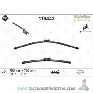 Balai d'essuie-glace SWF VISIOFLEX FORD - VALEO 119443
