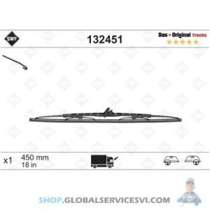 Balai d'essuie-glace SWF 450mm - VALEO 132451
