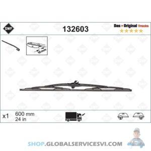 Balai d'essuie-glace SWF 600mm DAF CF65 - VALEO 132603
