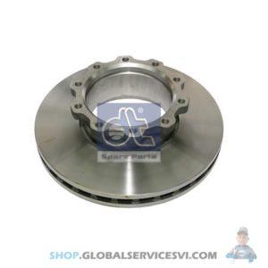 Disque de frein - DT SPARE PARTS 2.40344