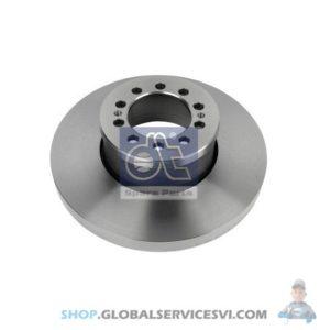 Disque de frein - DT SPARE PARTS 2.40349