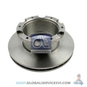Disque de frein ROR / Meritor, Volvo - DT SPARE PARTS 2.40553