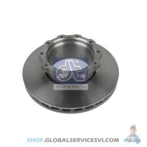 Disque de frein - DT SPARE PARTS 2.40557