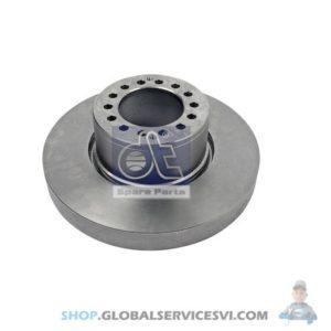Disque de frein - DT SPARE PARTS 2.40558