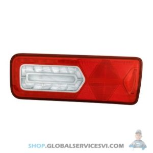 Feu arrière LED Gauche 24V, Catadioptre LC12 LED - VIGNAL 161120