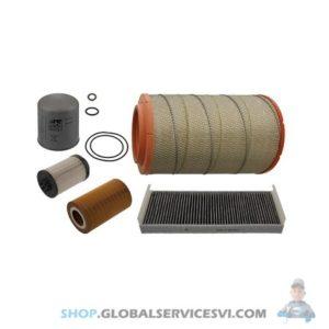 Kit de filtration pour MAN TGA / TGX / TGS - FEBI 46300