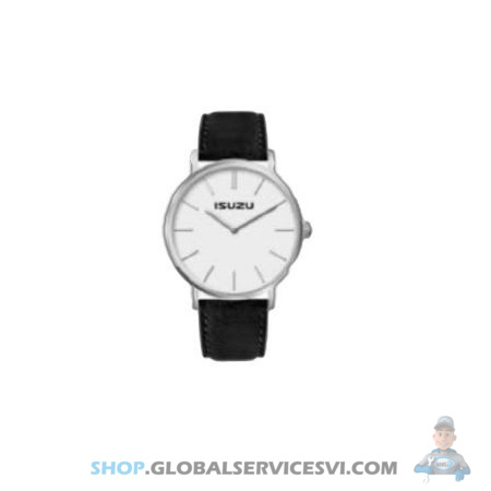 Montre ISUZU bracelet bi-color blanc et bleu - ISUZU PARTS JF33005018
