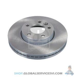 Disque de frein arrière - Kit de 2 - FEBI 28682