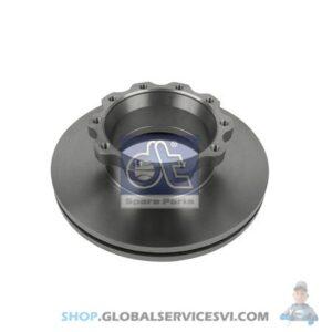 Disque de frein - DT SPARE PARTS 3.62050