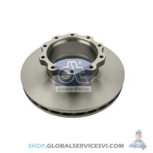Disque de frein - DT SPARE PARTS 3.62055