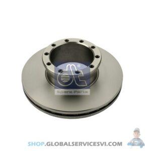 Disque de frein - DT SPARE PARTS 3.62057
