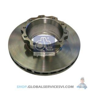 Disque de frein - DT SPARE PARTS 3.62058