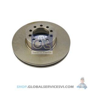 Disque de frein - DT SPARE PARTS 3.62059
